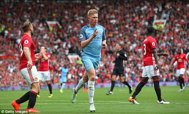 EPL Wrap-up: De Bruyne Leads City in Manchester Derby