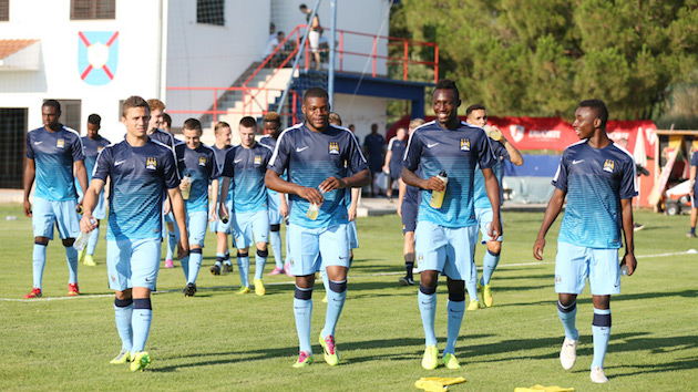 Manchester City youth players