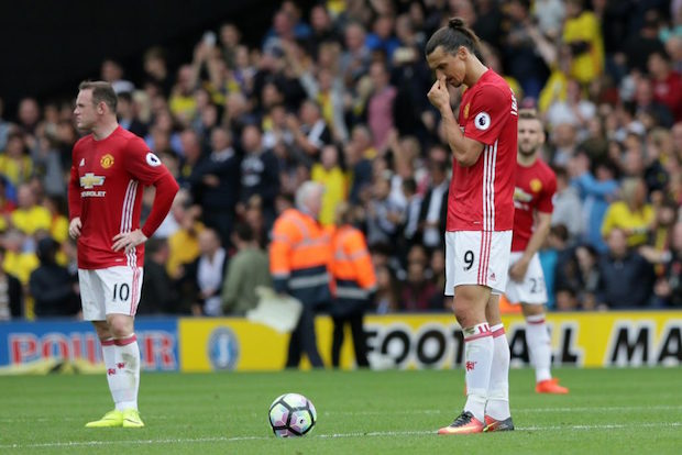 Manchester United lose to Watford