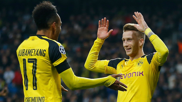 Marco Reus scores equalizer vs. Real Madrid
