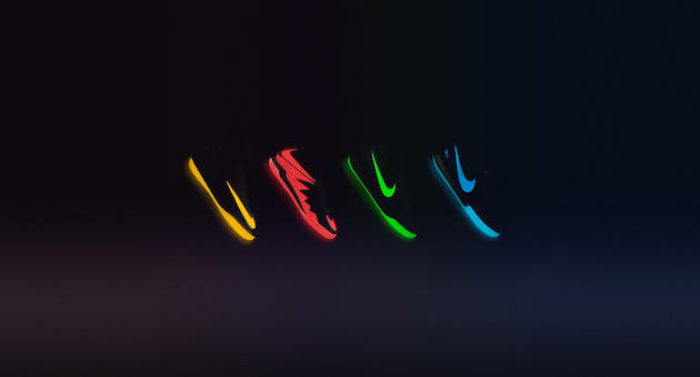 Nike Floodlights Pack glow in dark