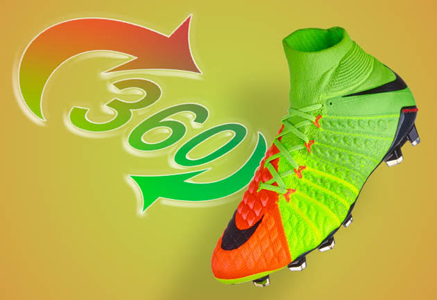 Nike Hypervenom Phantom 360 view