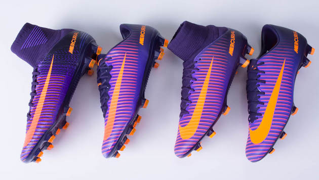 Nike Mercurial cleats collection