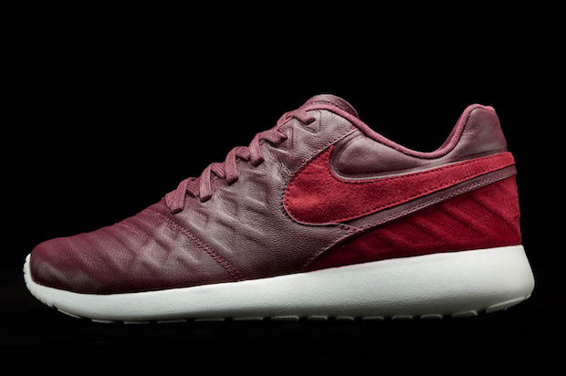 Nike Roshe Tiempo red leather lifestyle
