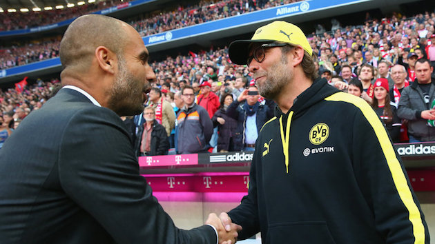 Klopp vs. Guardiola Resumes in the Premier League