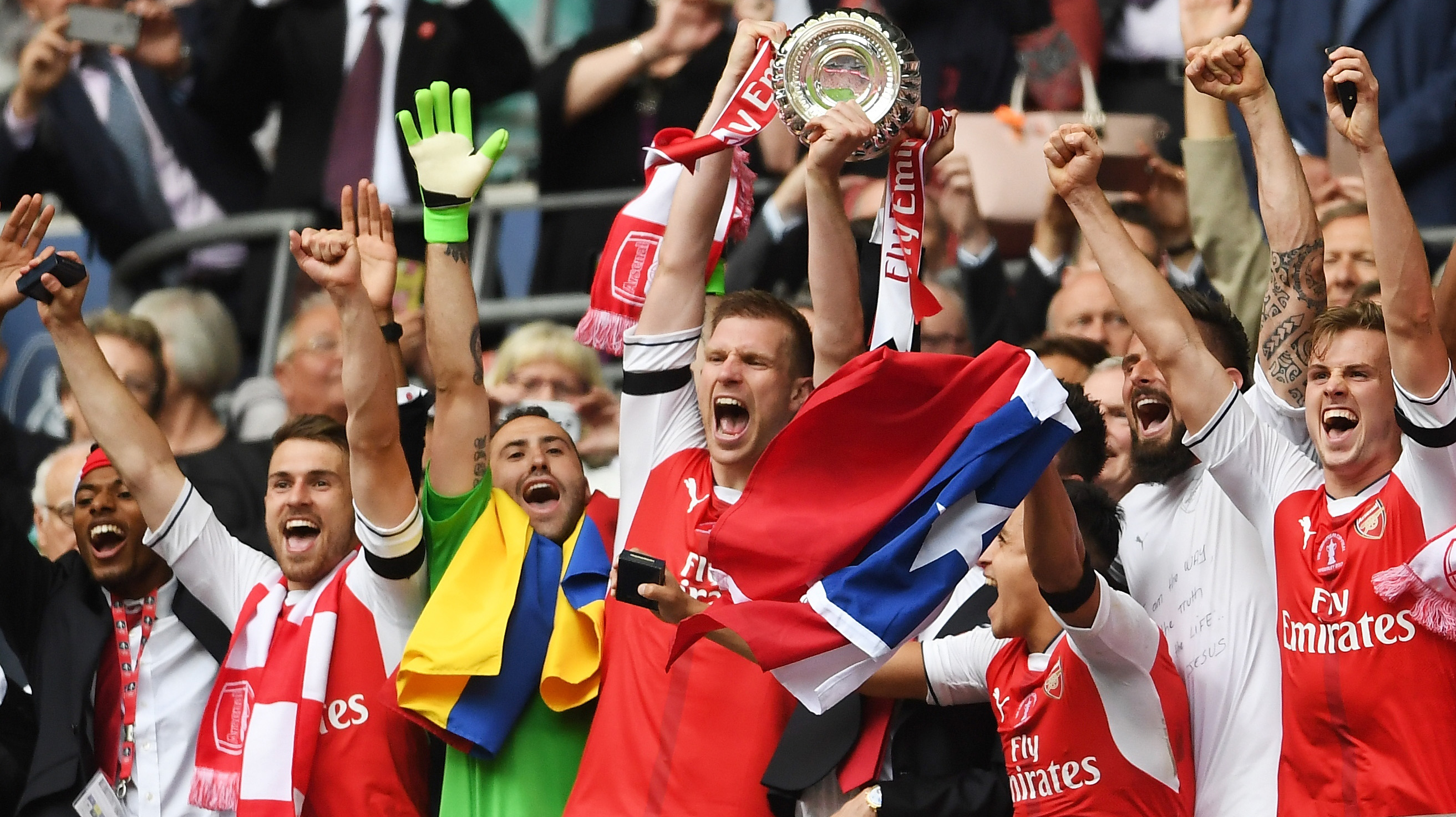 Arsenal FA Cup Champs