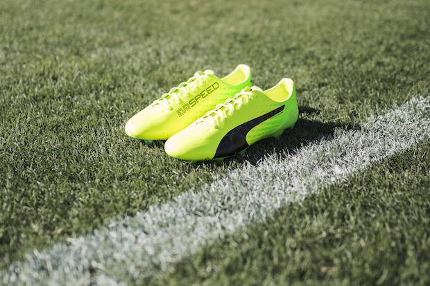 Puma evoSPEED SL-S in yellow