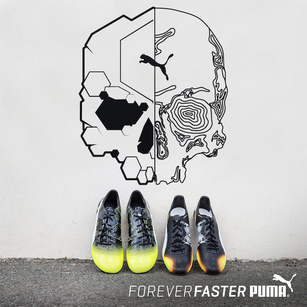 "WARNING: Puma Gets ""Graphic"" On evoPOWER & evoSPEED"