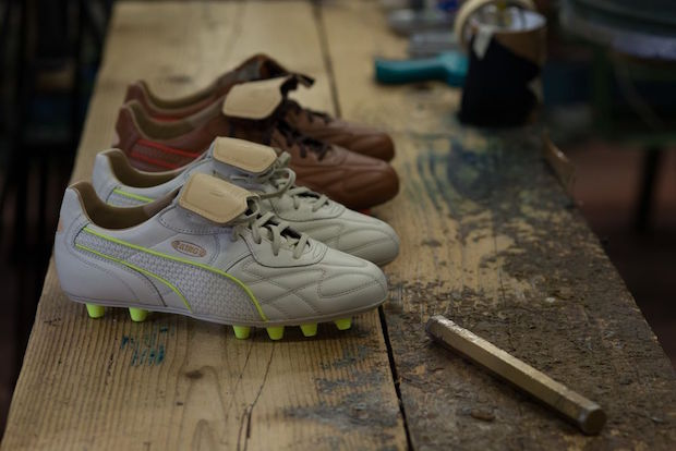 "Au Naturel: Puma Deals Pair of Kings ""Made In Italy"""