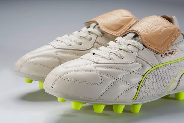 White Puma King Made In Italy