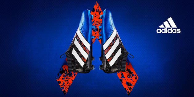 Paris pack adidas soccer shoes