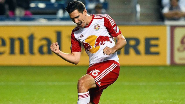 Red Bulls midfielder Sacha Kljestan