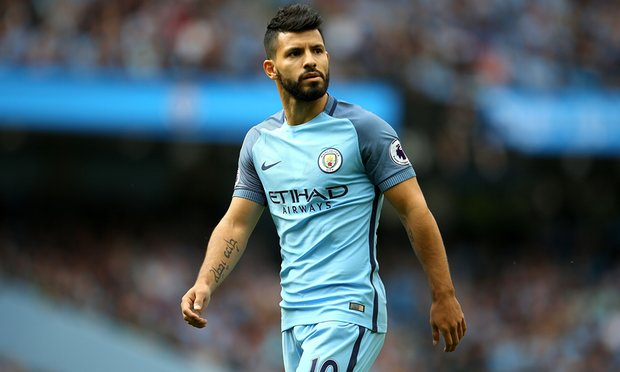 Sergio Aguero suspended for Manchester Derby
