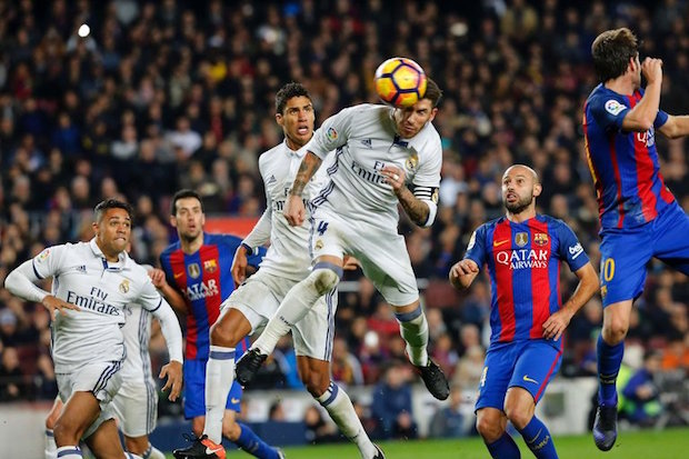 Sergio Ramos gets late goal for El Clasico draw