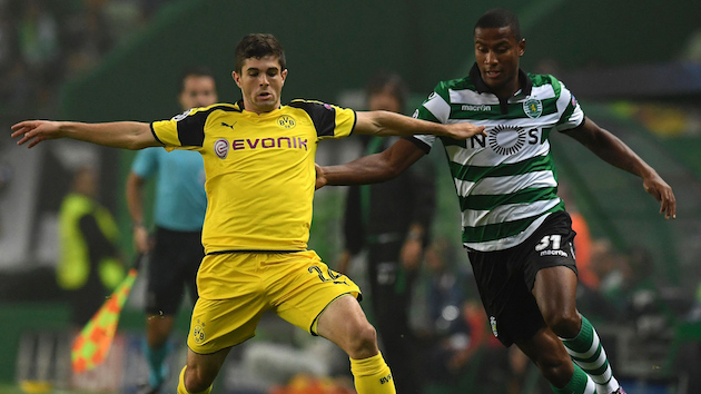 Dortmund Sneaks Past Sporting in Portugal