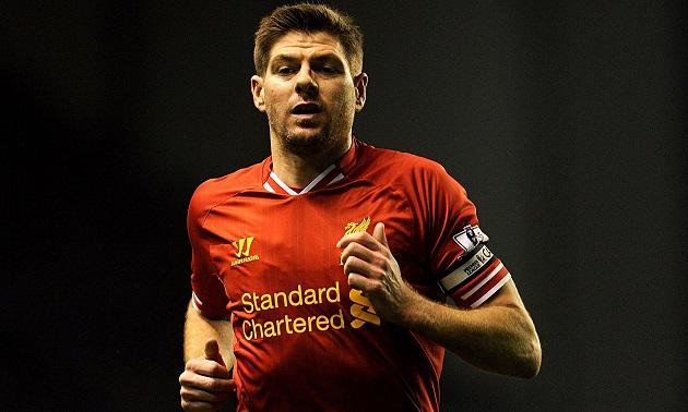 Liverpool legend Steven Gerrard