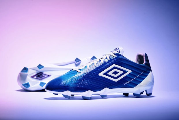 Umbro Goes Picasso, Splashes Blue on Everything