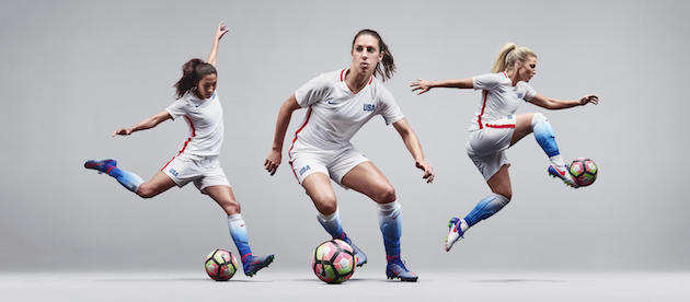 Nike Reveals USWNT 2016 Olympics Home Jersey