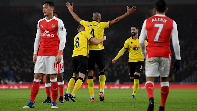 Watford defeats Arsenal