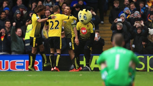 Watford stuns Man United