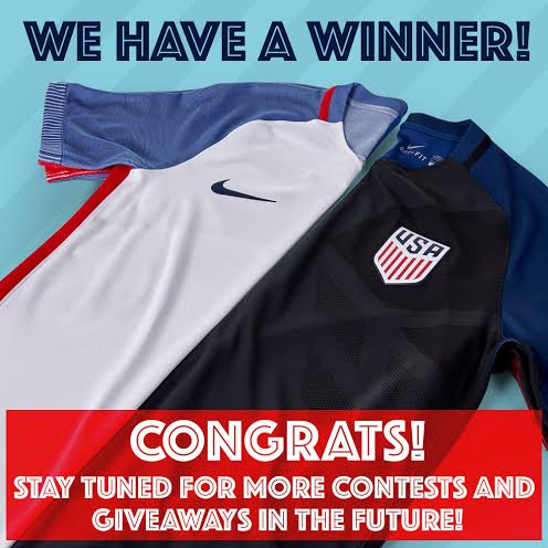 I Believe That YOU Will Win: The Center Circle's USA Jersey Giveaway