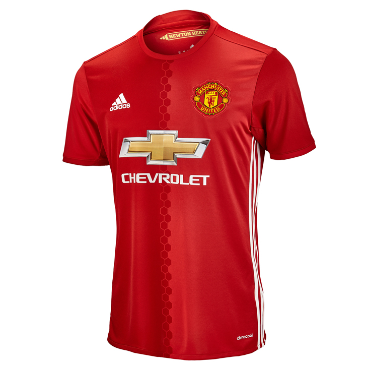 2016-17 Manchester United Home Jersey