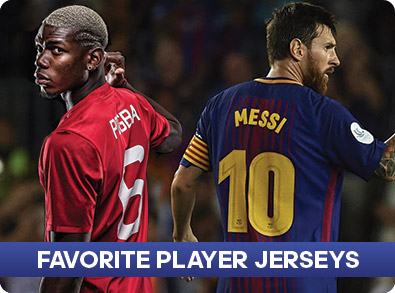 Favorite Player Jerseys
