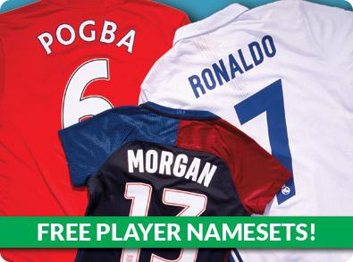 Free Player Namesets