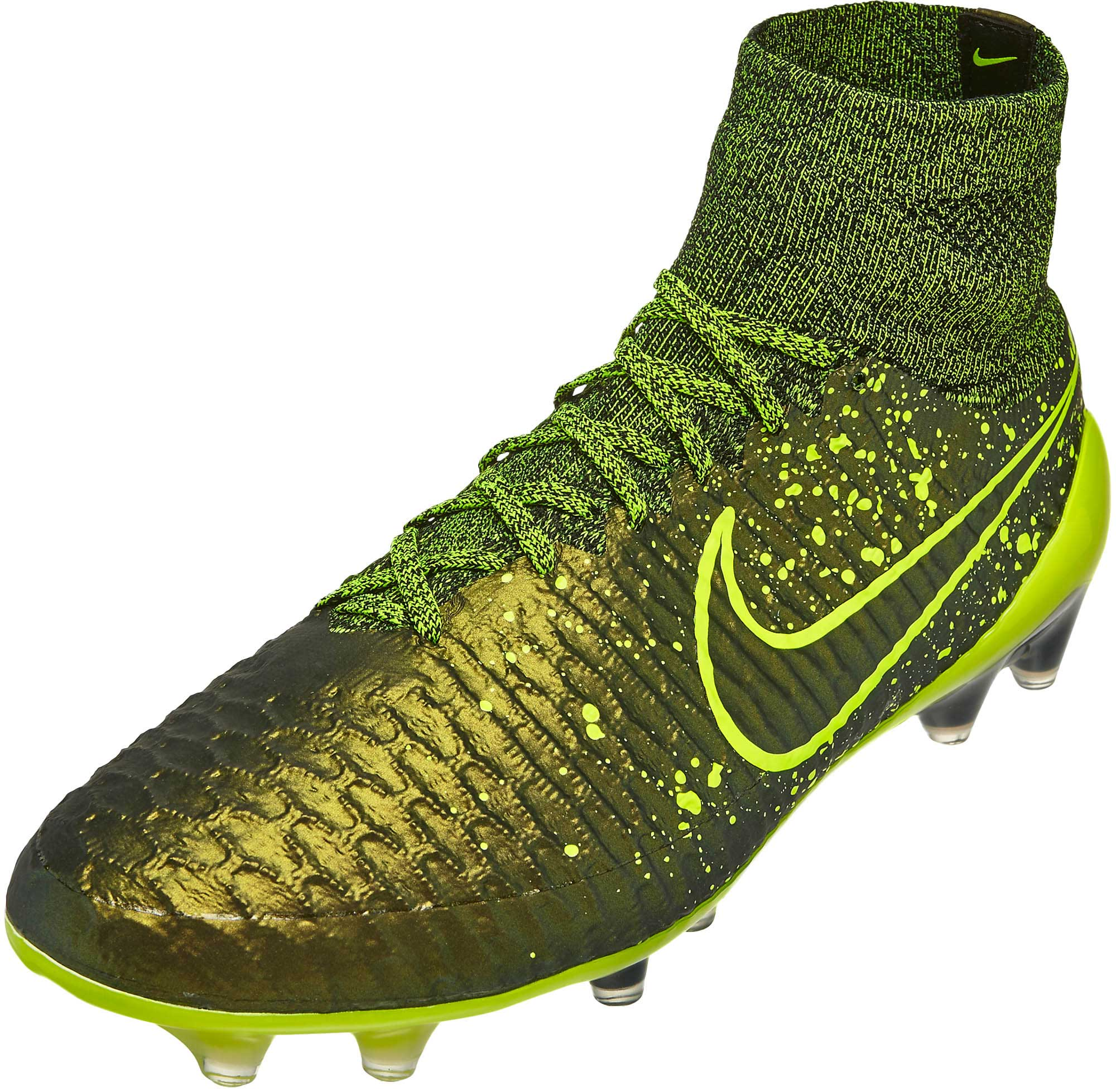 gold green mens nike magista cleats shoes