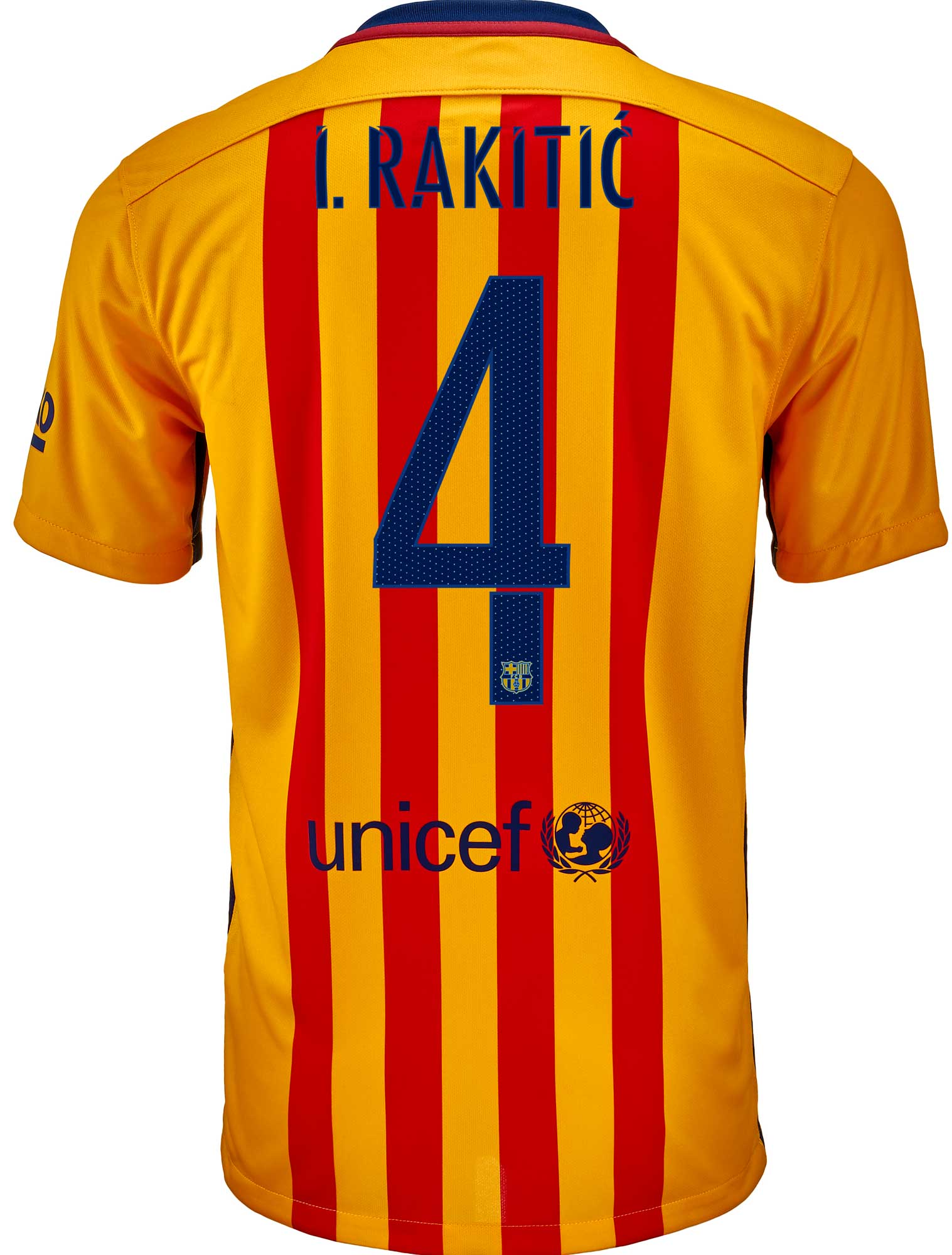 new styles 0edeb ddca7 2015 2016 barcelona soccer uniform jersey short sleeves with ...