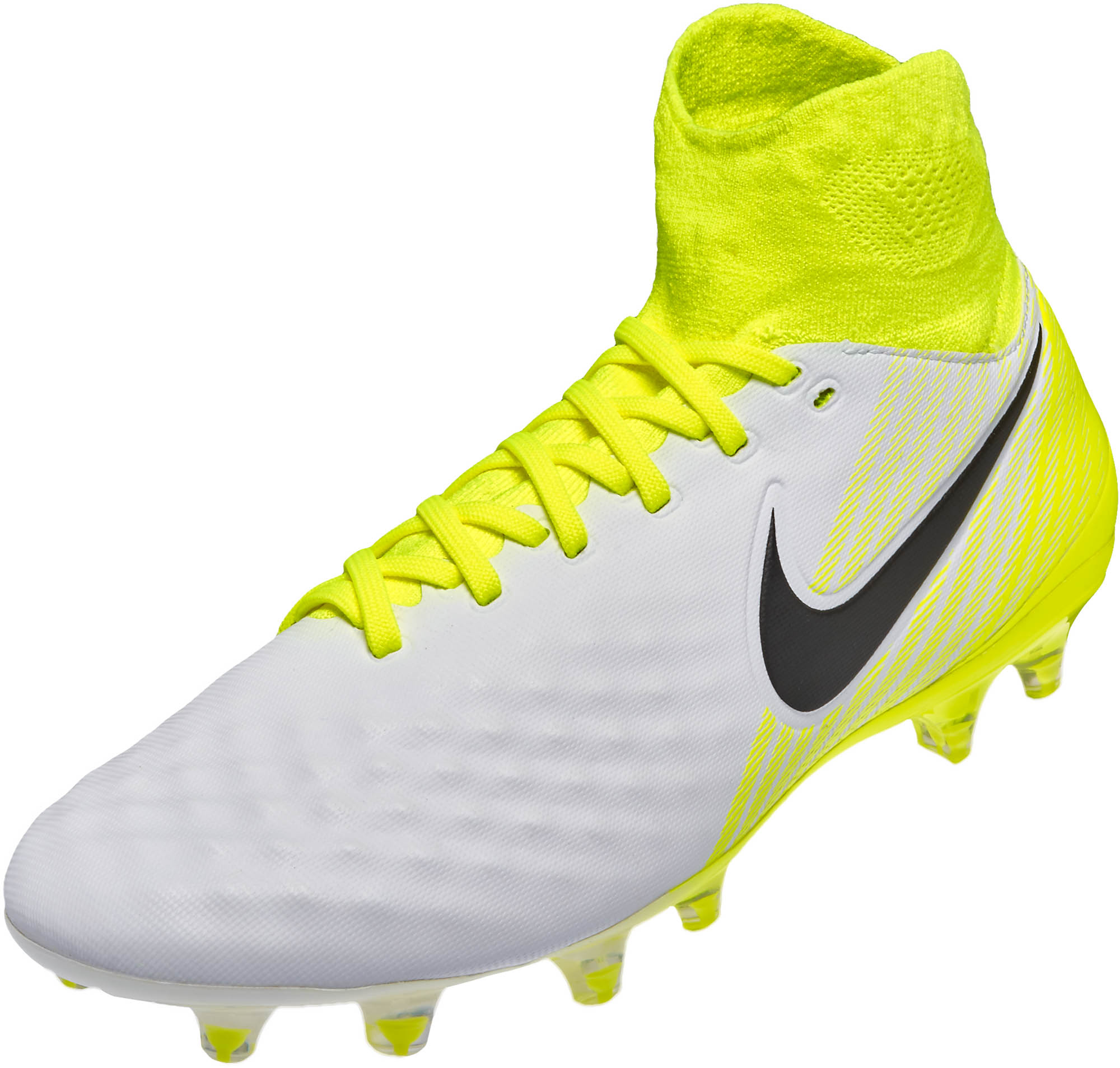 white yellow mens nike magista cleats shoes