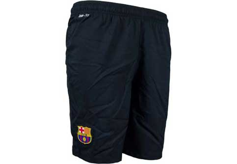 Nike Barcelona 3rd Short  Black with Vibrant Yellow