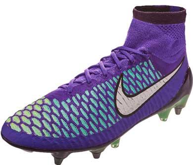 New nike soccer cleats magista purple