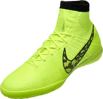 nike elastico superfly ic volt indoor soccer shoes