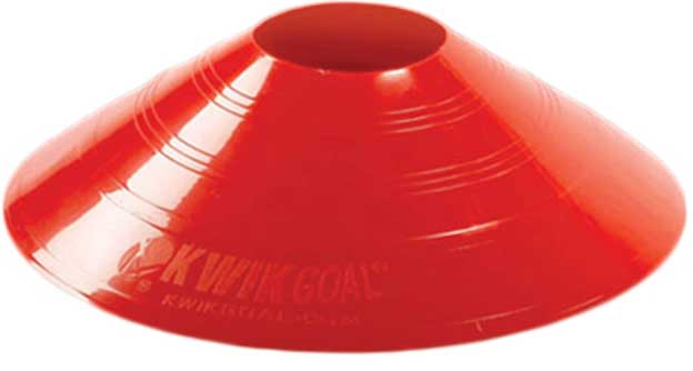 KwikGoal Small Disc Cone - Red