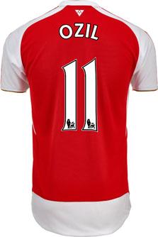 Arsenal Ozil Jersey - 2015/16 Puma Arsenal Home Jerseys