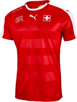Puma Switzerland Home Jersey
