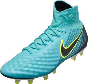 Nike Womens Magista Orden II FG - Light Aqua \u0026 Black