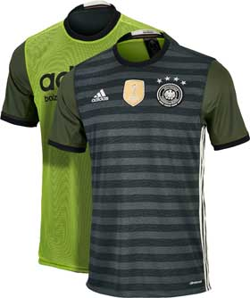 Adidas germany youth away jersey 2016 germany soccer jerseys for Germany mercedes benz soccer jersey