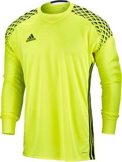 80f7e2c98 adidas Kids Onore 16 Goalie Jersey - Yellow GK Jerseys