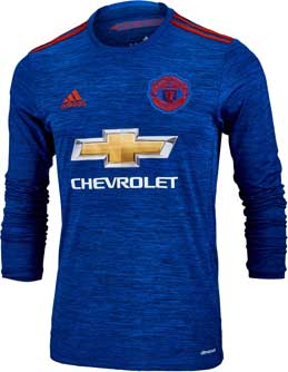 Manchester United L/S Away Jersey