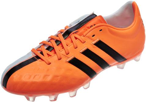 adidas 11 pro orange and white