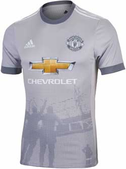adidas Manchester United Authentic 3rd Jersey 2017-18