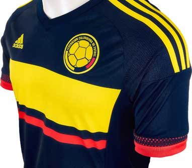 9c57a5990 colombia soccer jersey