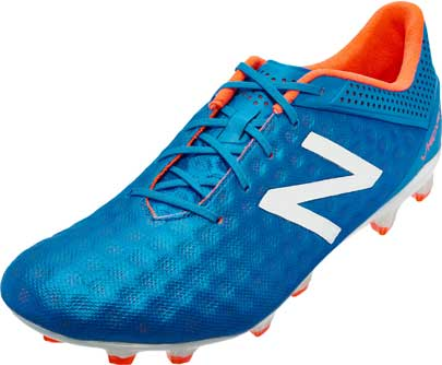 new balance visaro. new balance visaro pro fg soccer cleats - bolt and flame