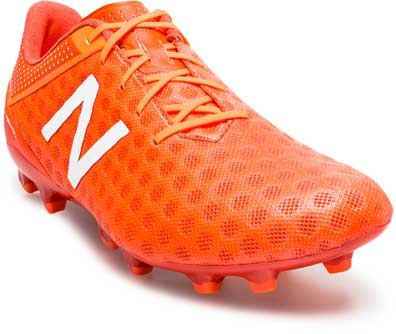 most popular exclusive deals authentic quality New Balance Visaro FG Cleats - Orange NB Soccer Shoes