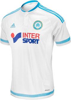 adidas Marseille Home Jersey