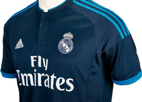 blue real madrid shirt on sale   OFF56% Discounts d35765f98