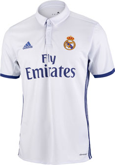 Kids Real Madrid Home Jersey