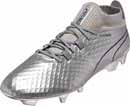 Puma One Chrome FG Soccer Cleats - Silver Blue Depths